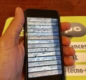 Iphone 7 nero 128 gb usato con custodia in pelle nera e con estensione di garanzia Apple Care
